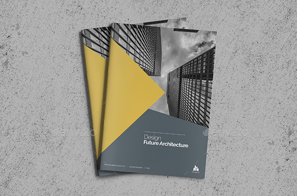 Commercial Property Brochure Template by Addaxx