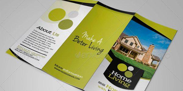 Living Real Estate Trifold by Kineticink