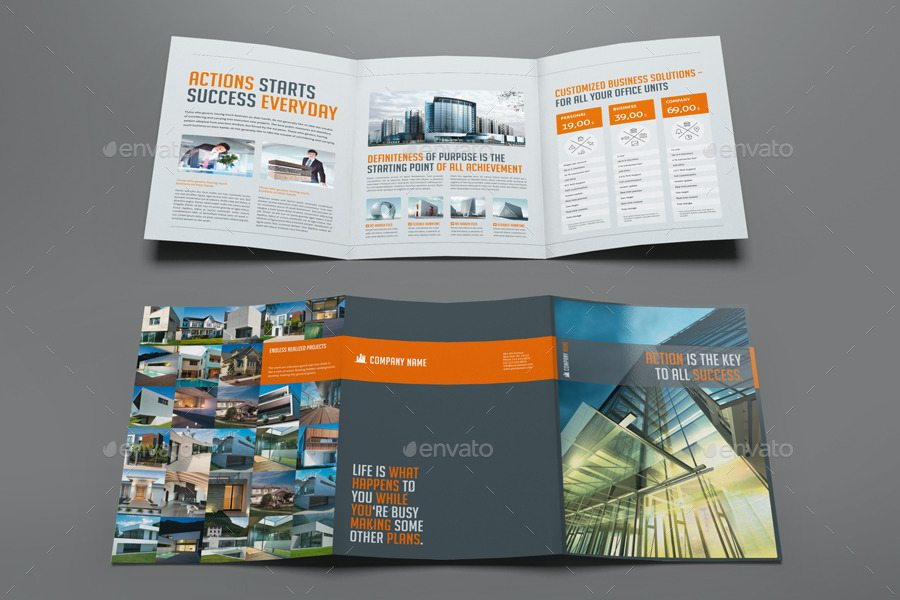 Business Trifold Brochure by Mikinger