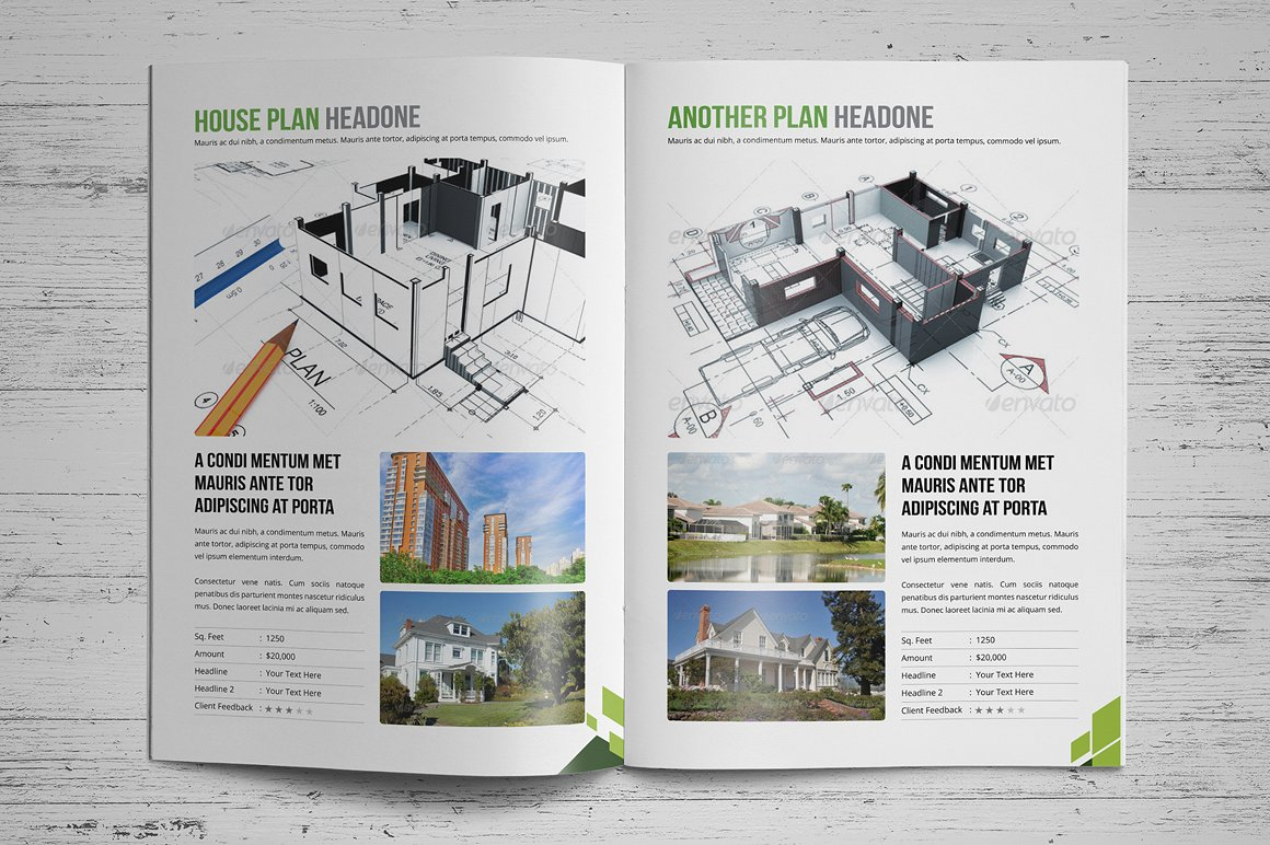 Real Estate Brochure by Miyaji75 Created by: Miyaji75