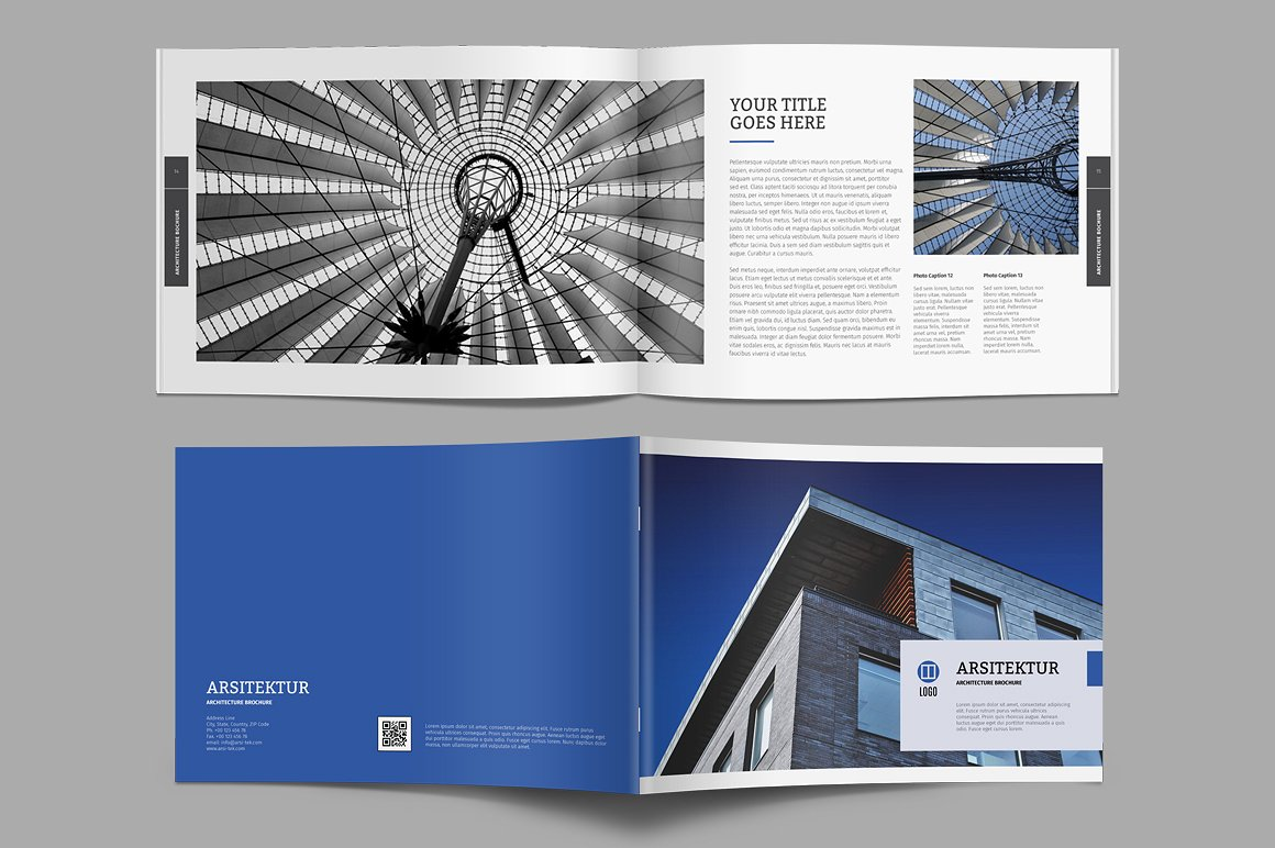 Architecture Brochure by Kreatype