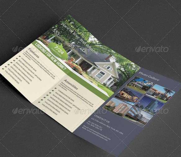 Trifold Brochure-Real Estate by SMMR