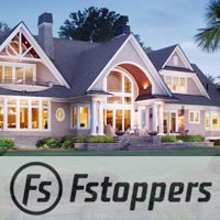 Fstoppers logo and exterior image of a beautiful building