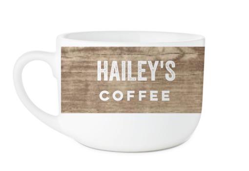 Shutterfly personalized coffee mug