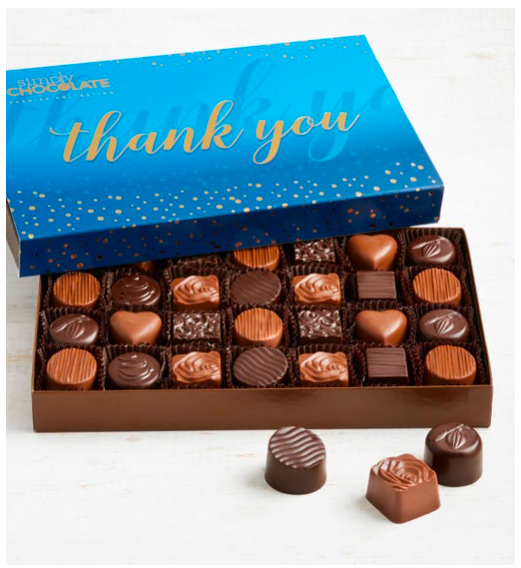 1800Flowers Simply Chocolate Thank You Premier Collection