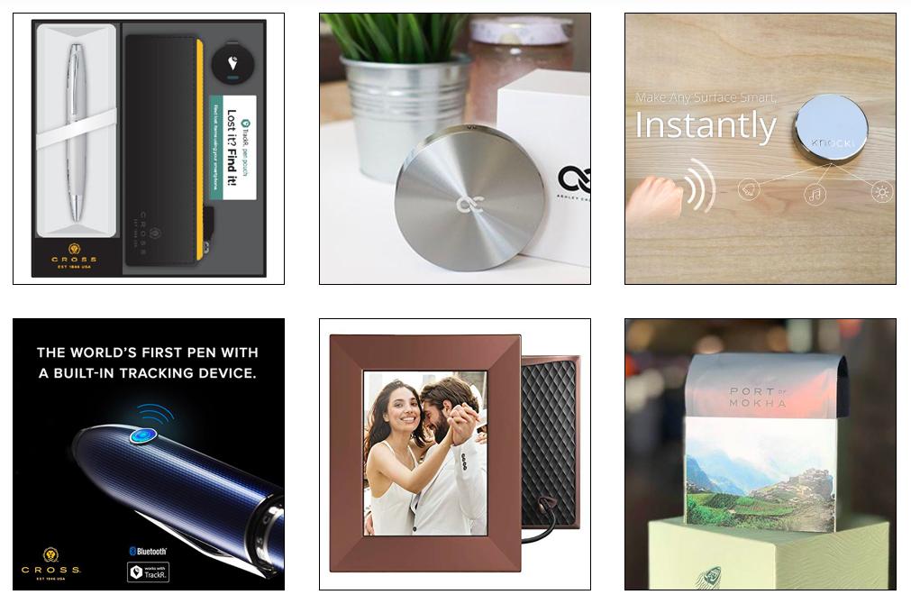 Evabot Catalog gift options