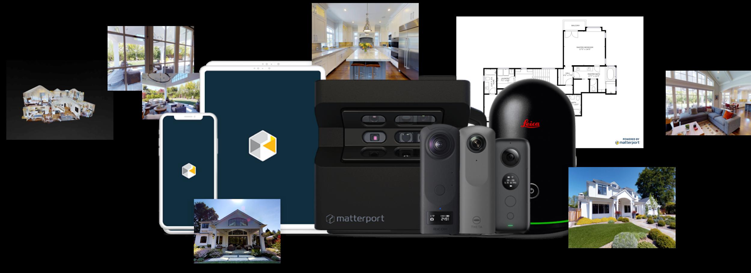 Matterport 3D virtual software