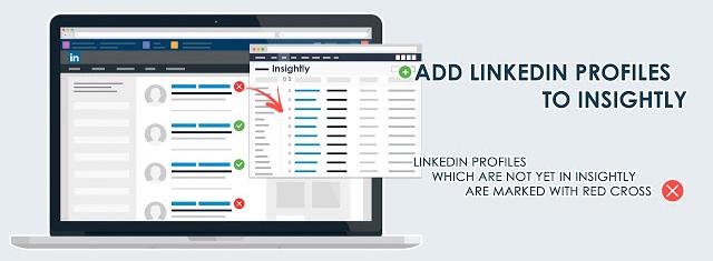adding linkedin profiles to insightly