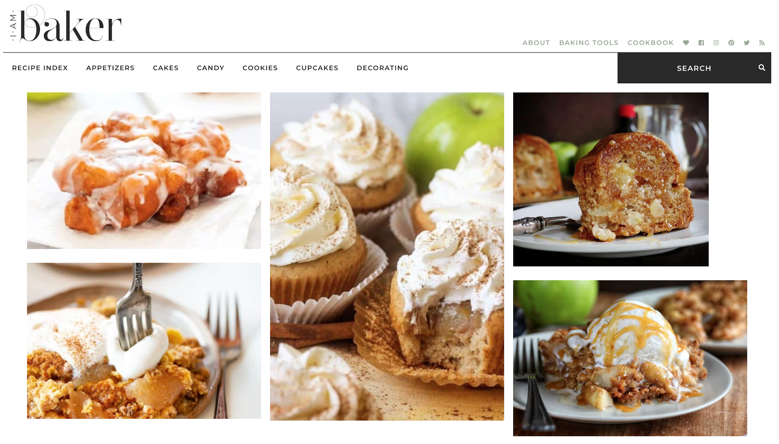 I Am Baker blog