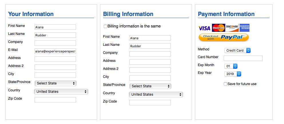 Pagina di pagamento e fatturazione dei comunicati stampa e-Release