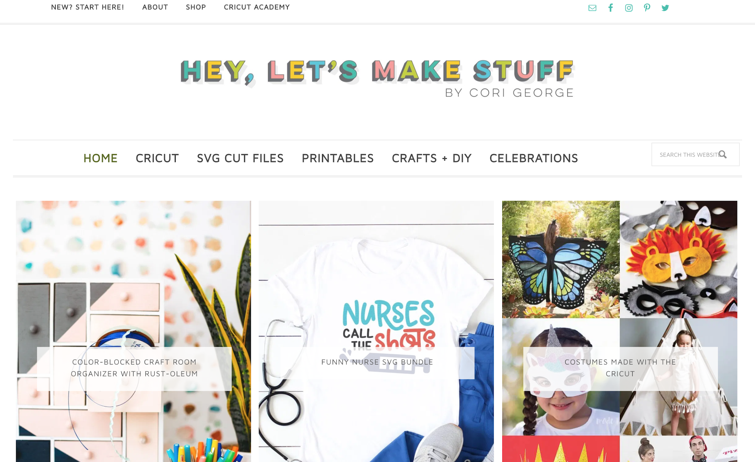 monetizing blog shop example hey let's make stuff