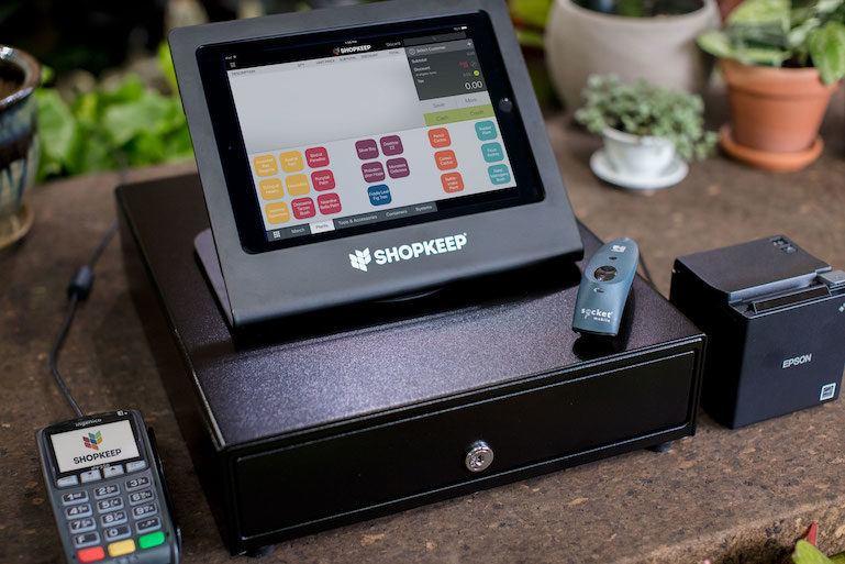 ShopKeep POS on an iPad register