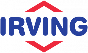 Irving logo after rebrand