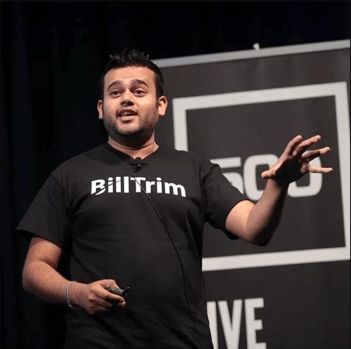 Dipesh Desai, CEO & Founder of BillTrim