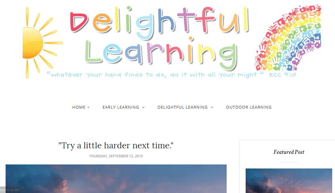 Delightful Learning - teacher blogs infographic