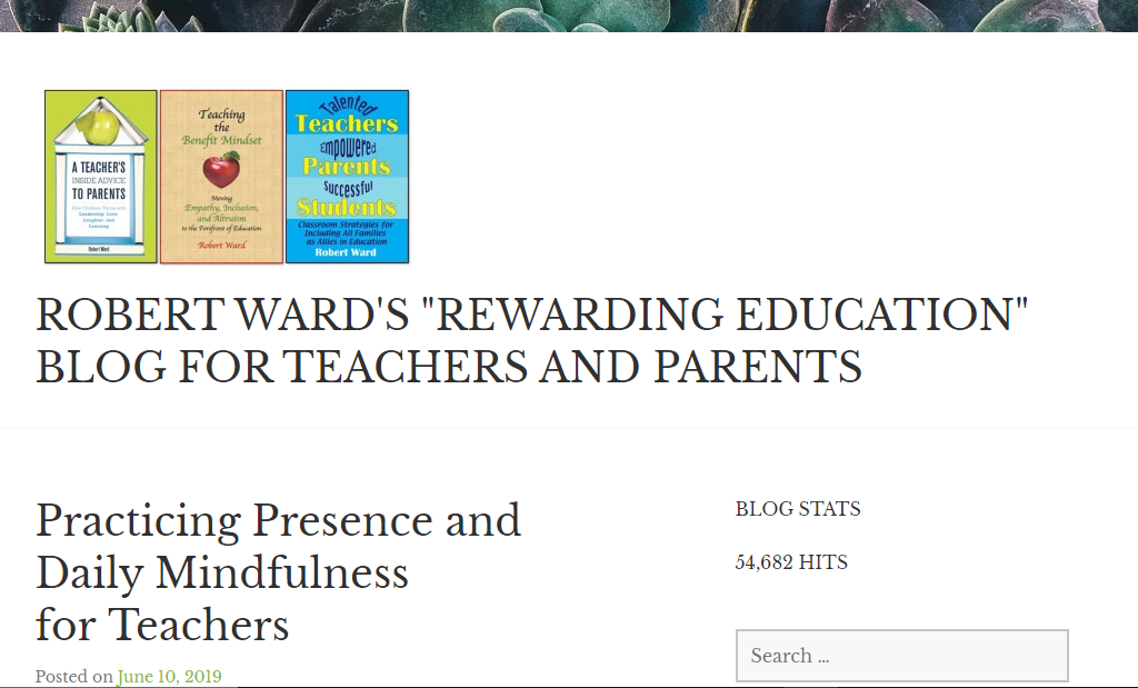 Rewarding Education - teacher blog