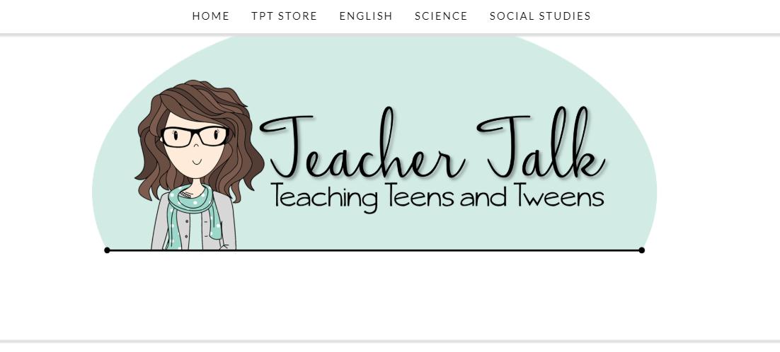 Teacher Talk - teacher blog