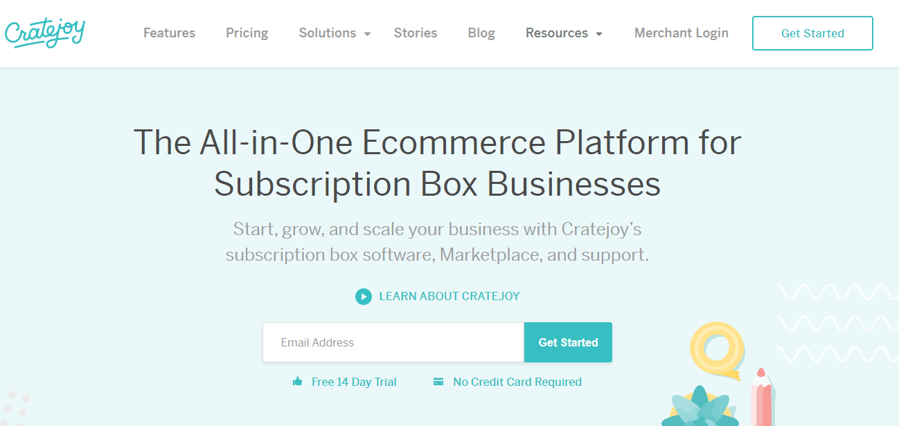 subscription box site example
