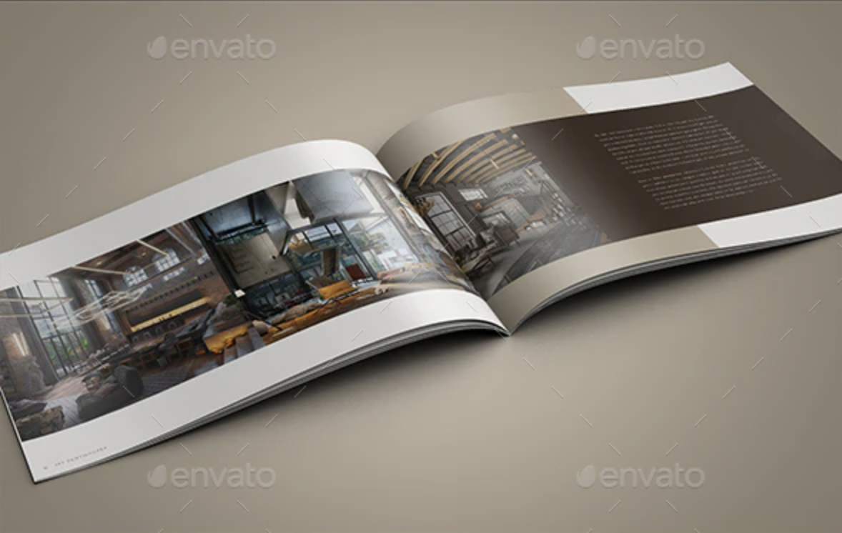 Real Estate Landscape Brochure by 3work