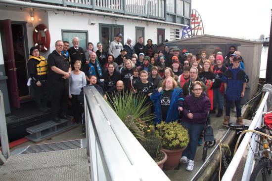 Team riverboat tour shared on TripAdvisor
