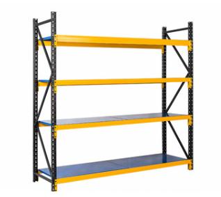 Heavy-duty steel angle storage rack
