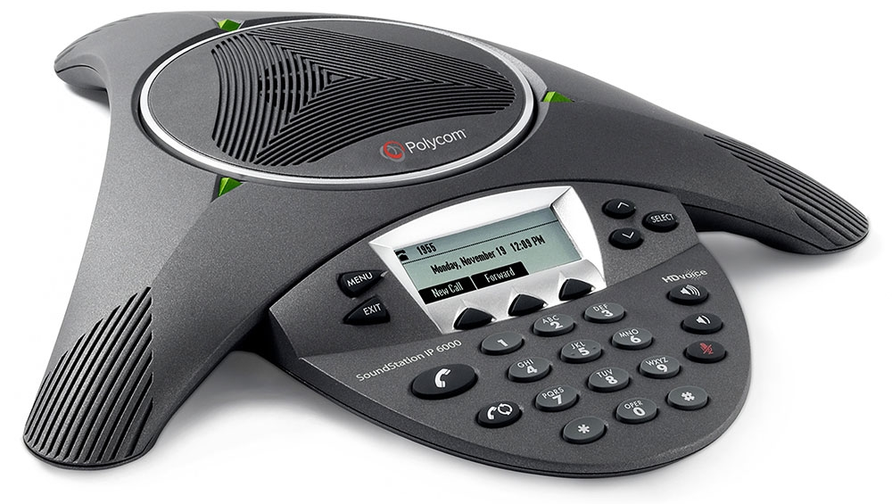 Polycom SoundStation IP 6000 - voip conference phone