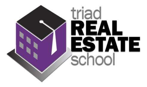 Triad Real Estate School logo