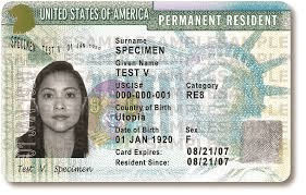 Example of Resident ID Card