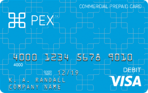 PEX Business Prepaid Card Logo