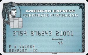 American Express Purchasing Card Logo