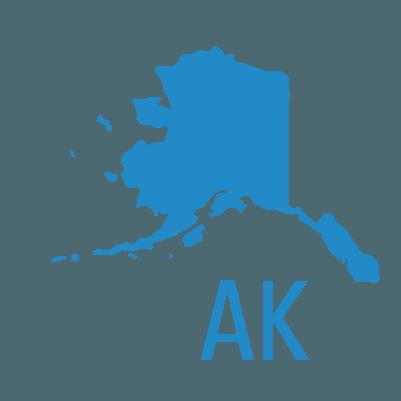 Alaska's State Map