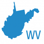 West Virginia state map