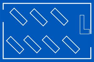 Diagonal Floor Plans