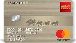 Wells Fargo secured business credit card