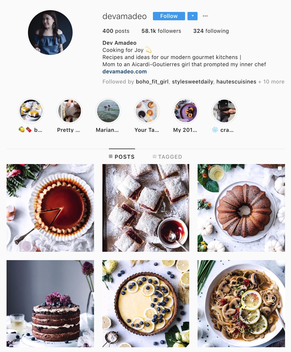Devamadeo Instagram Account