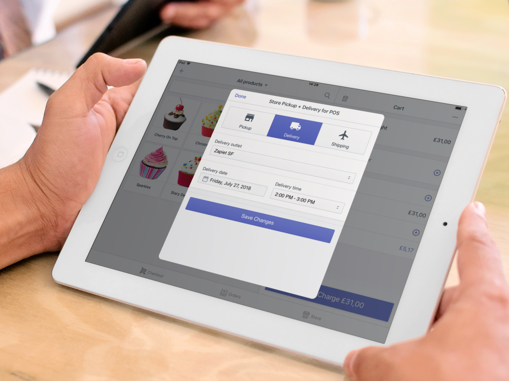 Businesses using Shopify can let customers choose to buy online and pick up in-store at checkout