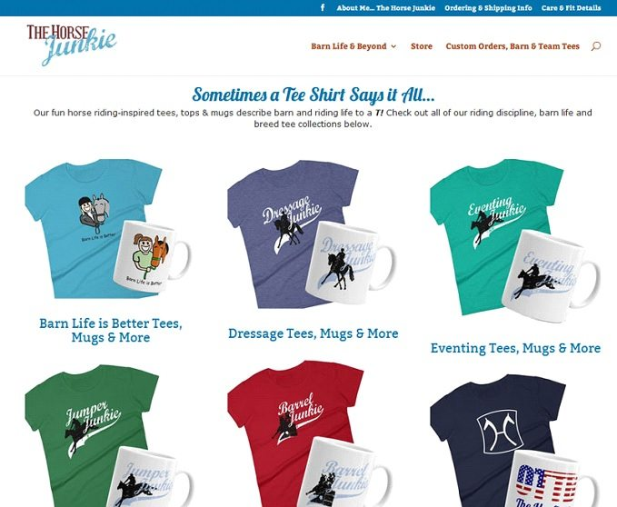 Images of Horse Junkie's T-shirts