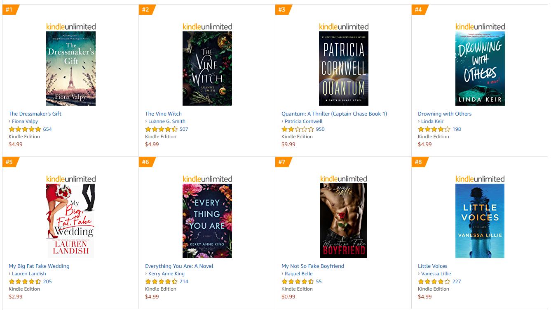 amazon bestselling ebooks covers