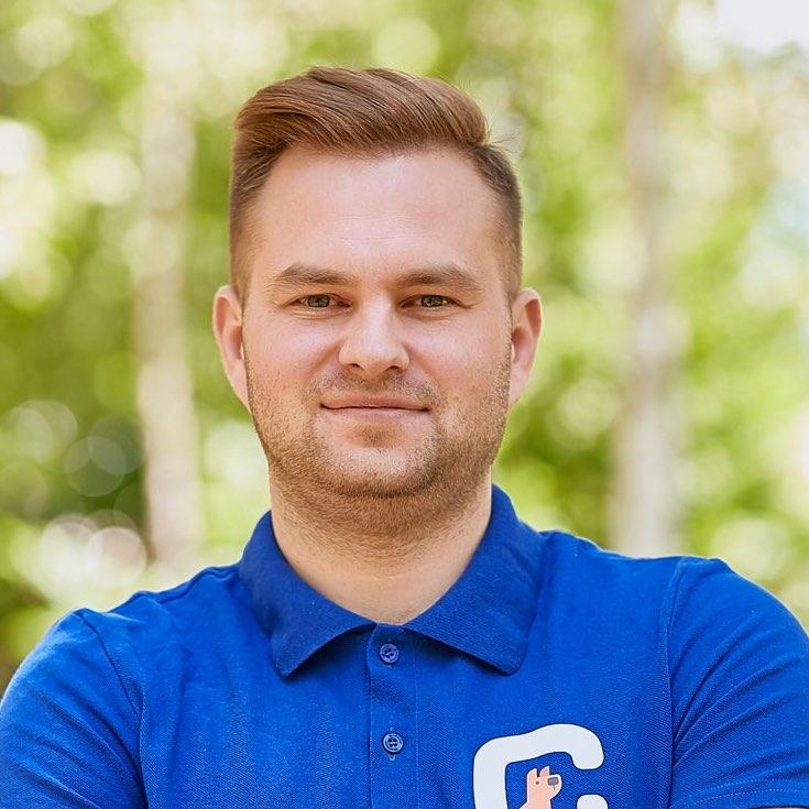 Dmytro Okunyev, Founder, Chanty