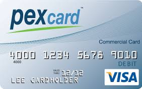 Pex card commercial card