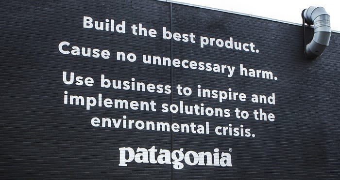 Patagonia's mission statement
