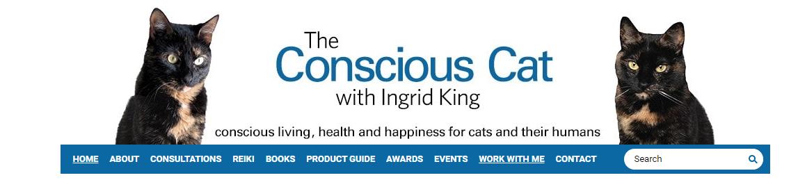 The Conscious Cat blog website