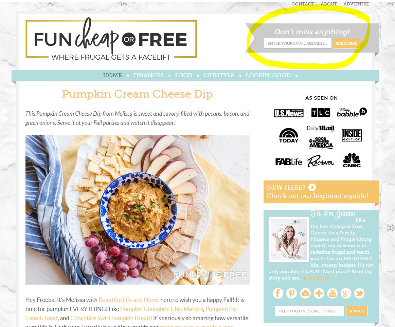 blog design best practices
