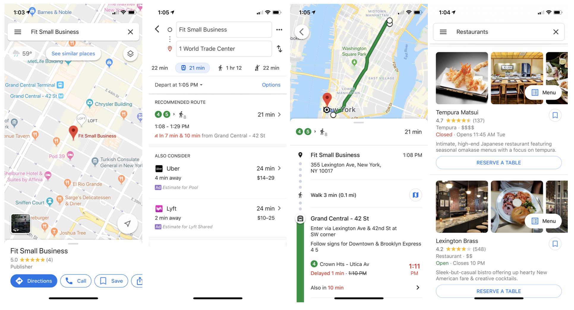 Google Maps mobile app