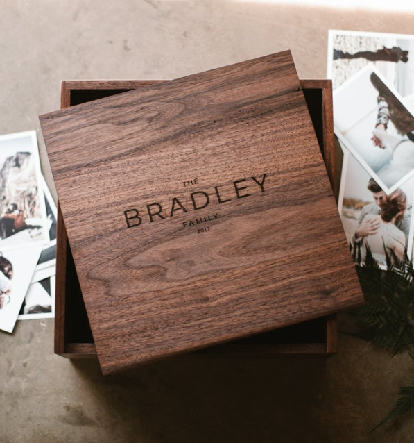 The Bradley Family Wood Box