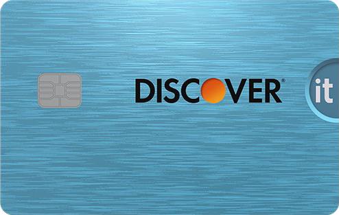 Discover it Cash Back card image