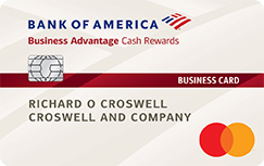 Business Advantage Cash Rewards Mastercard Business Card