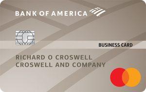 Bank of America® Platinum Plus® Mastercard® Business card