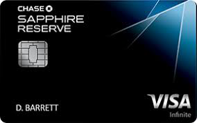 Image of Chase Sapphire Reserve credit card