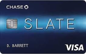 Image of Chase Slate credit card